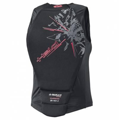 Held Protektorenweste Spine, schwarz-pink