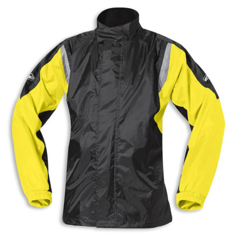 Held Regenjacke Mistral 2, schwarz-gelb