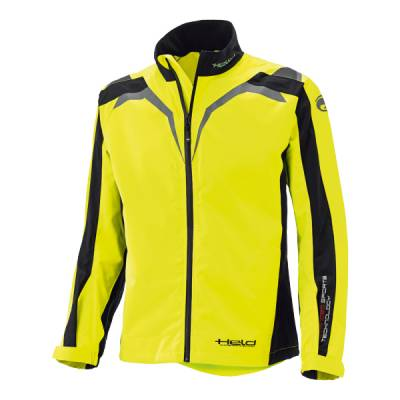 Held Regenjacke Rainblock Top Damen, schwarz-neongelb