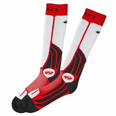Held Socken Race Sock, schwarz-rot