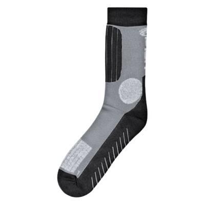 Held Socken Sommer (kurz), grau-schwarz