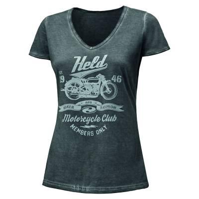 Held T-Shirt 9680 Damen, smoke grey