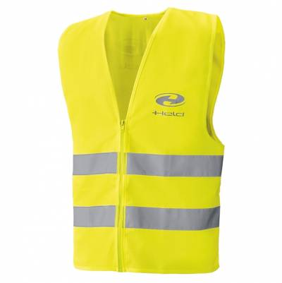 Held Warnweste Safety Vest, schwarz-neongelb