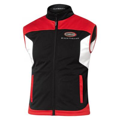 Held Weste Softshell Team, schwarz-rot
