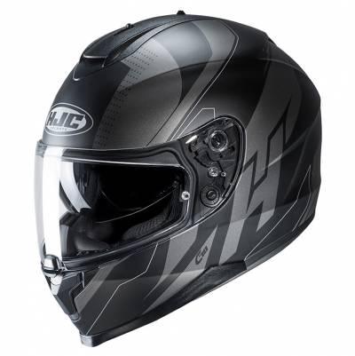 HJC Helm C70 Boltas MC5SF, schwarz-silber matt