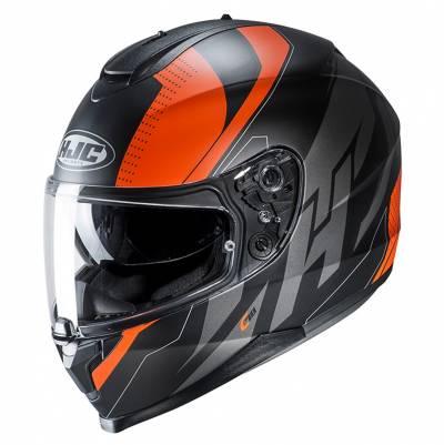 HJC Helm C70 Boltas MC7SF, schwarz-orange-silber