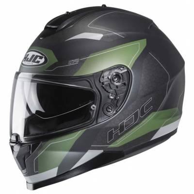 HJC Helm C70 Canex MC2SF, schwarz-grün matt