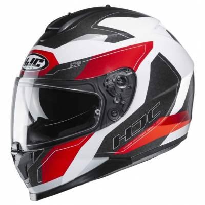 HJC Helm C70 Canex, weiß-rot-schwarz