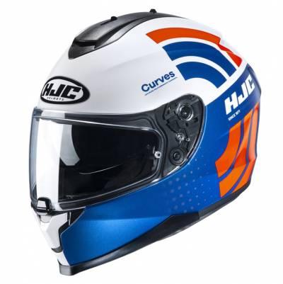HJC Helm C70 Curves MC27, blau-weiß-rot