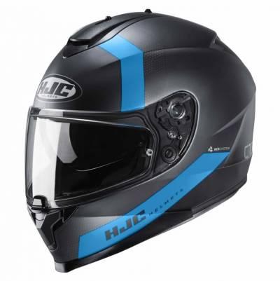 HJC Helm C70 Eura MC1SF, schwarz-blau-matt