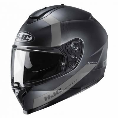 HJC Helm C70 Eura MC1SF, schwarz-grau-matt
