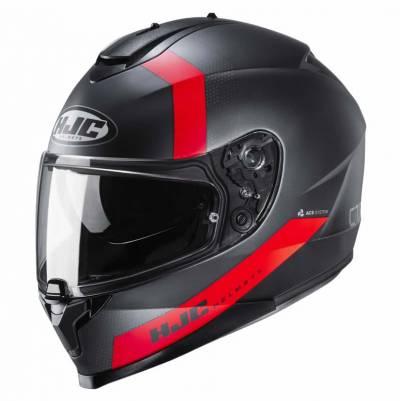 HJC Helm C70 Eura MC1SF, schwarz-rot-matt