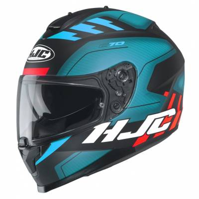 HJC Helm C70 Koro MC2SF, schwarz-blau-orange