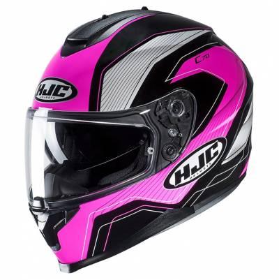 HJC Helm C70 Lianto MC8, schwarz-pink-weiß