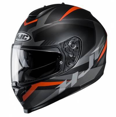 HJC Helm C70 Troky MC7SF, schwarz-orange-silber