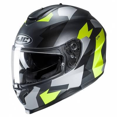 HJC Helm C70 Valon MC2SF, schwarz-gelb-silber