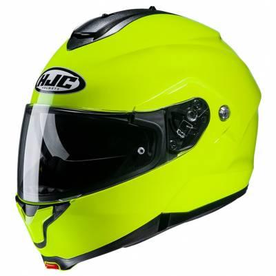 HJC Helm C91 Solid, fluogelb