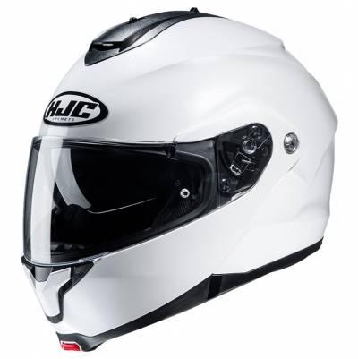HJC Helm C91 Solid, weiß