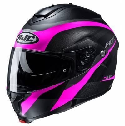 HJC Helm C91 Taly MC8SF, schwarz-pink matt