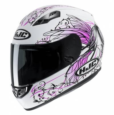 HJC Helm CS-15 Naviya MC8, weiß-pink-schwarz