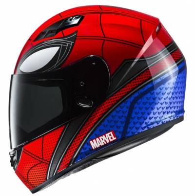 HJC Helm CS-15 Spiderman Homecoming Marvel, MC1 rot-blau