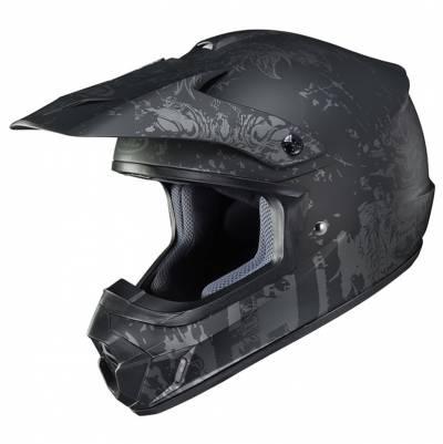 HJC Helm CS-MX II Creeper MC5SF, schwarz-grau matt