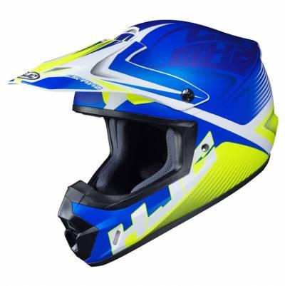 HJC Helm CS-MX II Ellusion MC2SF, blau-grün-weiß matt