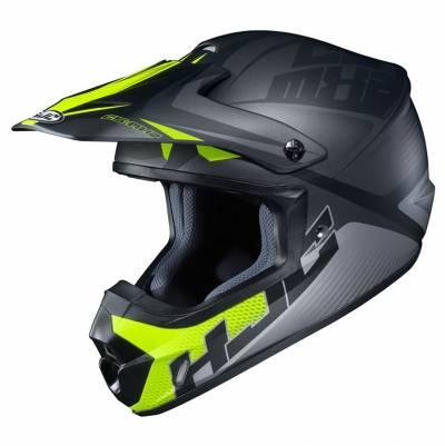 HJC Helm CS-MX II Ellusion MC5SF, schwarz-fluogelb matt