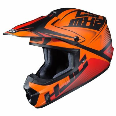 HJC Helm CS-MX II Ellusion MC7SF, orange-schwarz matt