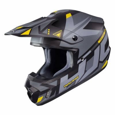 HJC Helm CS-MX II Madax, grau-gelb matt