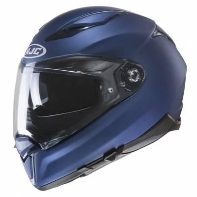 HJC Helm F70, blau metallic matt