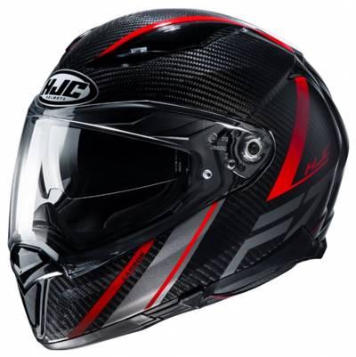 HJC Helm F70 Carbon Eston MC1, schwarz-rot