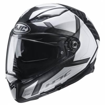 HJC Helm F70 Dever MC5SF, schwarz-weiß matt
