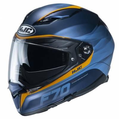 HJC Helm F70 Feron MC2SF, blau-gelb matt