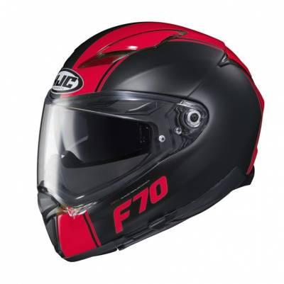 HJC Helm F70 Mago, schwarz rot matt