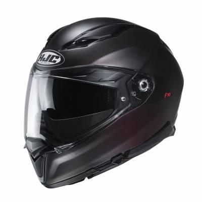 HJC Helm F70 Samos MC1SF, schwarz-rot matt