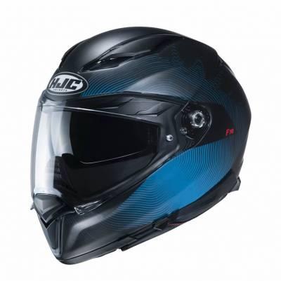 HJC Helm F70 Samos MC2SF, schwarz-blau matt