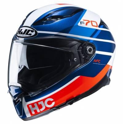 HJC Helm F70 Tino MC21, weiß-blau-rot