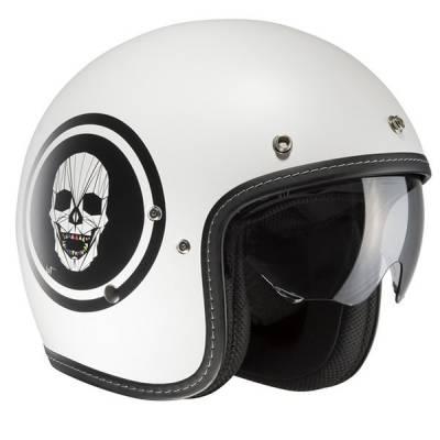 HJC Helm FG-70s Apol MC10SF, weiß-schwarz-matt