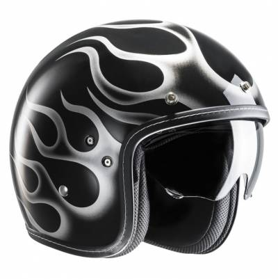 HJC Helm FG-70s Aries MC5, schwarz-weiß