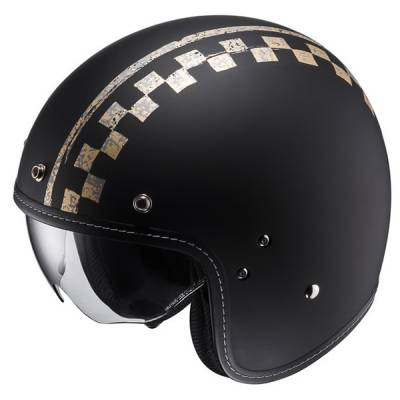 HJC Helm FG-70s Burnout MC5F, schwarz-gold-matt