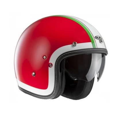 HJC Helm FG-70s Heritage MC1, rot-weiß-grün