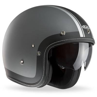 HJC Helm FG-70s Heritage MC10F, grau-schwarz-weiß-matt