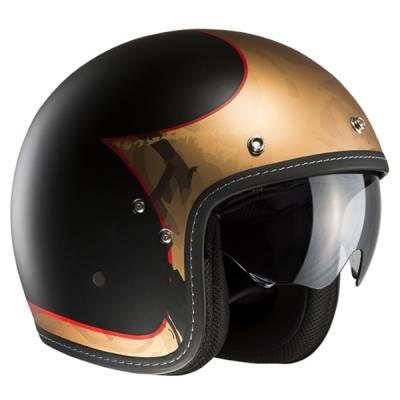 HJC Helm FG-70s Lucho MC1SF, schwarz-gold-matt