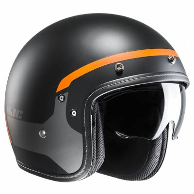 HJC Helm FG-70s Modik MC7SF,  schwarz-grau-orange matt