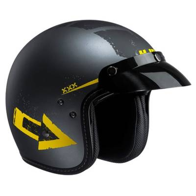 HJC Helm FG-70s Tales MC3F, schwarz-gelb