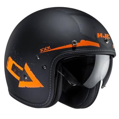 HJC Helm FG-70s Tales MC7F,schwarzmatt-orange