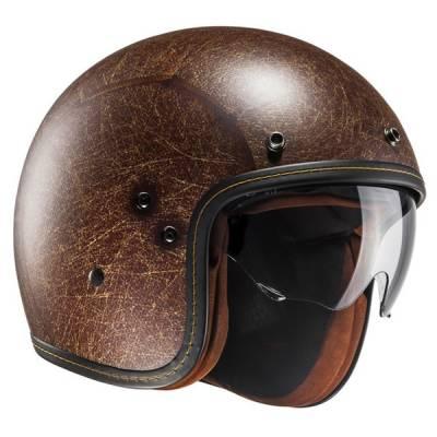 HJC Helm FG-70s Vintage Semi Flat, braun-matt