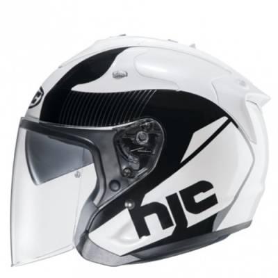 HJC Helm FG Jet Acadia MC5, weiß-schwarz