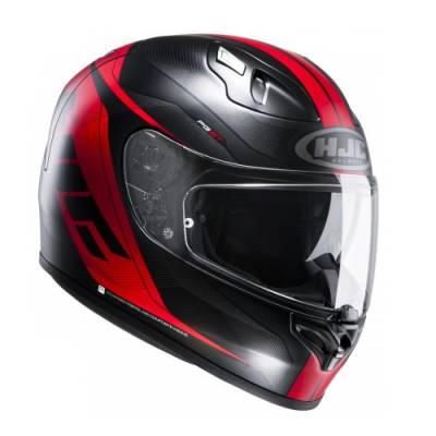 HJC Helm FG-ST Crono MC1SF, schwarz-rot